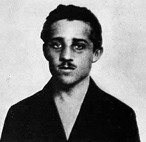 Gavrilo Princip, the assassin of Sarajevo