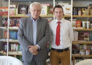 Prof. Lucian Boia and Vlad Badea