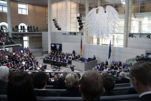 German Bundestag, hour of remembrance of WWI, July 3rd 2014