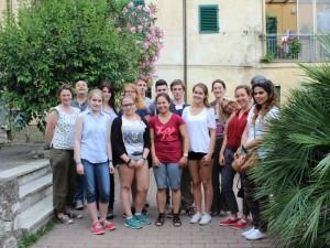 Group photo EUSTORY History Camp
