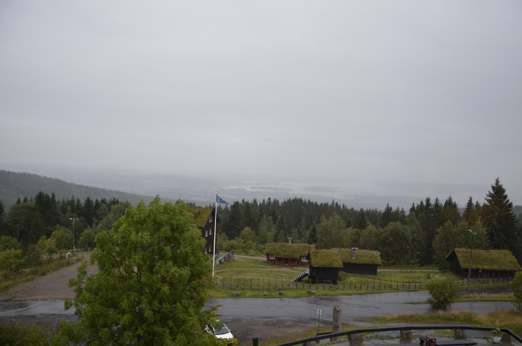 Overlooking Oslo
