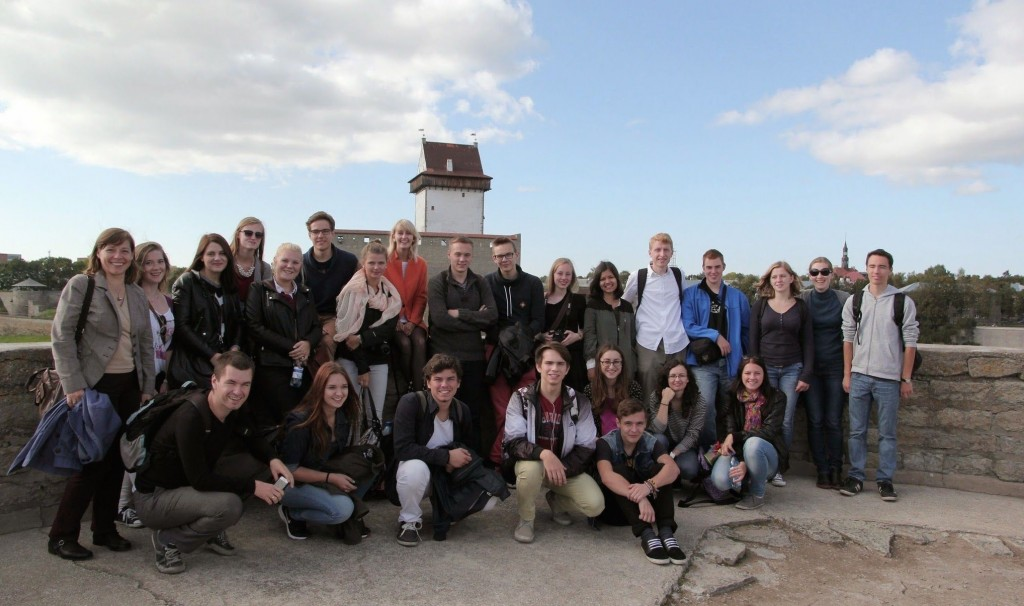 Participants of the 1st Baltic Sea Youth Dialogue in Narva| Photo: Tina Gotthardt