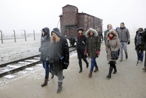 Visit to the concentration camp memorial Auschwitz | Photo: DBT/ von Saldern