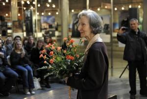 The Holocaust survivor Zofia Posmysz | Photo: DBT/ von Saldern