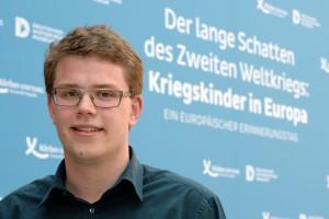 Gregor Christiansmeyer attending the Rememberance Day, Source: Koerber Foundation / David Ausserhofer