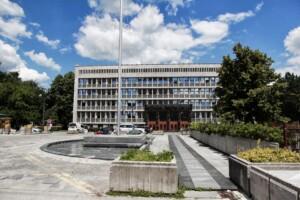 Slovenian parliament in Ljubljana.