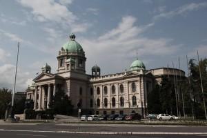 Serbian National Assembly in Belgrade (Author: T. Gotthardt).