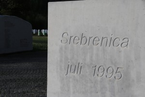 Srebrenica is a case of international community's failure (Source: B. Hennig).