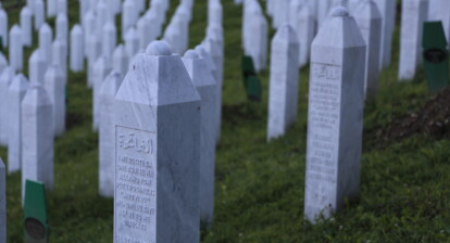 The Srebrenica-Potočari Memorial and Cemetery for the victims of the 1995 genocide.