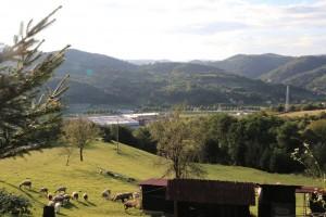 Village of Srebrenica today (Author: B. Hennig).