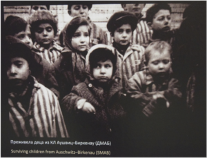 """""""Last destination Auschwitz"""", Photo of the exhibition (April–July 2015) in the Historical Museum of Serbia (Photo: Milena Tatalović)"""