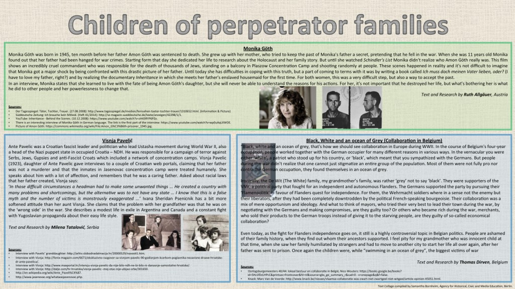 Children of Perpetrator Families