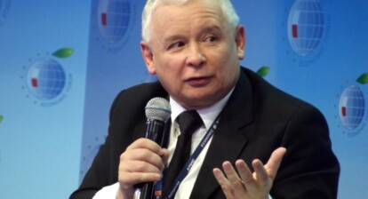 """Jarosław Kaczyński, leader of the right-wing populist party """"Law and Justice"""""""