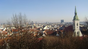 Bratislava from above.
