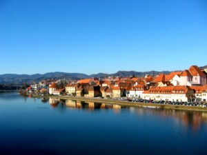 The city of Maribor, Slovenia (Source: wikimedia).