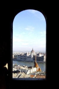 Hungarian parliament in Budapest.