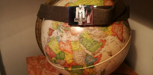 """The """"re-unification"""" belt. When human solidarity overcomes military division."""