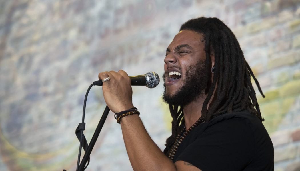 Marvin Brooks at the opening ceremony of the EUSTORY Summit