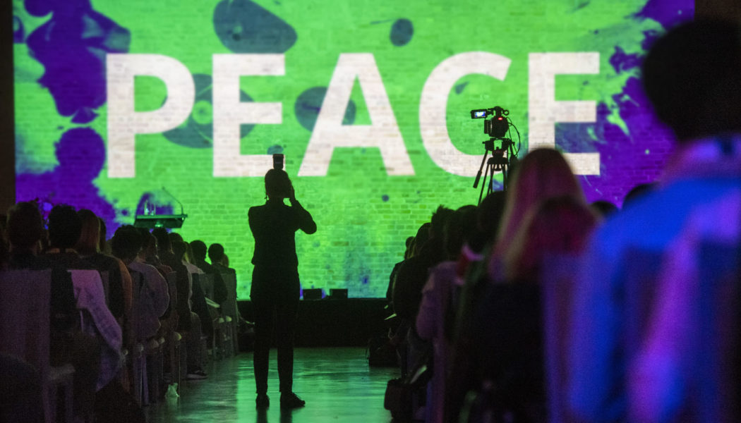 Opening ceremony EUSTORY Summit Youth for Peace together with DFJW