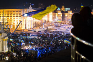 Euromaidan: The first protests in 2013. (Photo: CC/Evgerny Feldman)