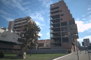 Architect Dobrovic did not foresee second void (Photo: Milena Tatalovic)