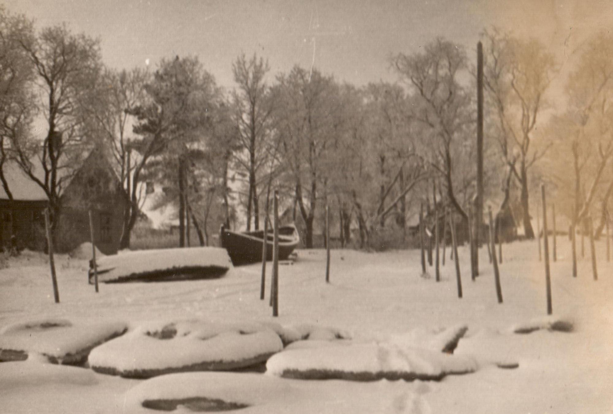 The property of Alberti, winter of 1942.