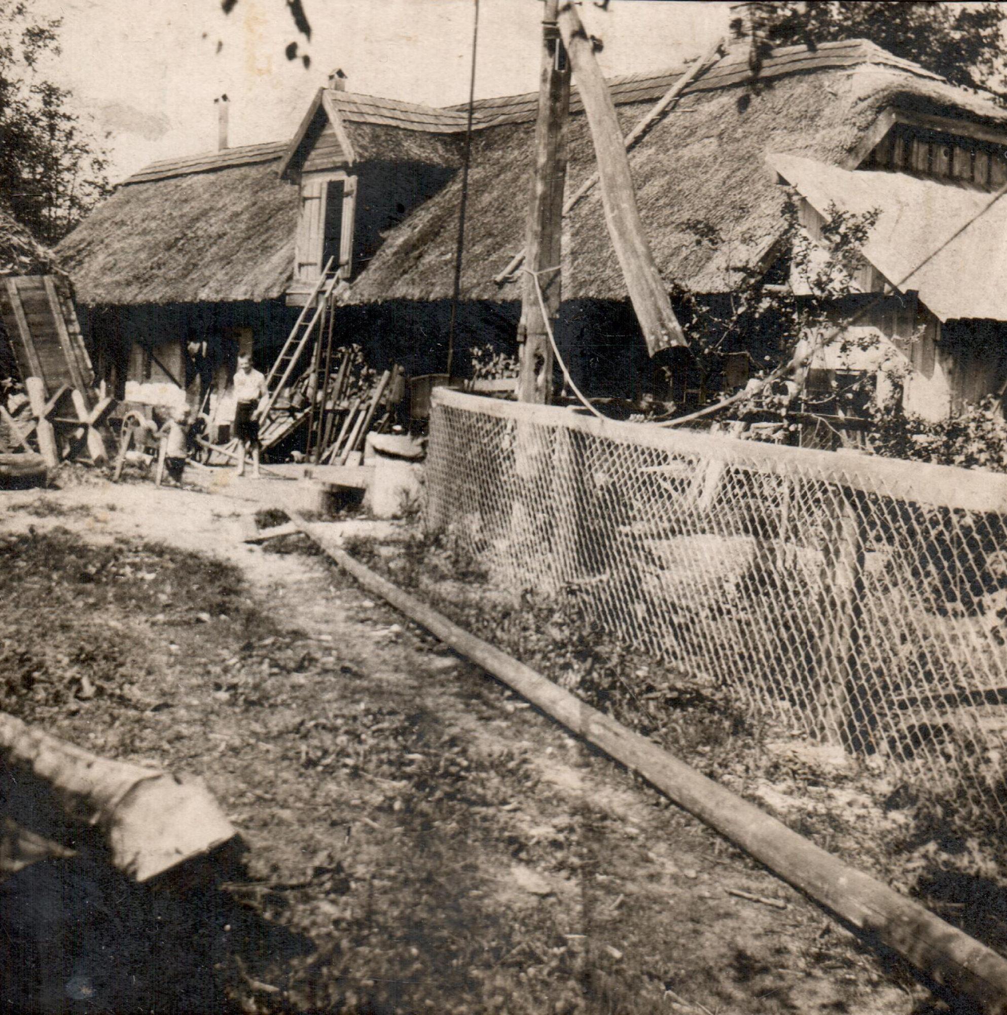 Main house of the Alberti family, 1940's.