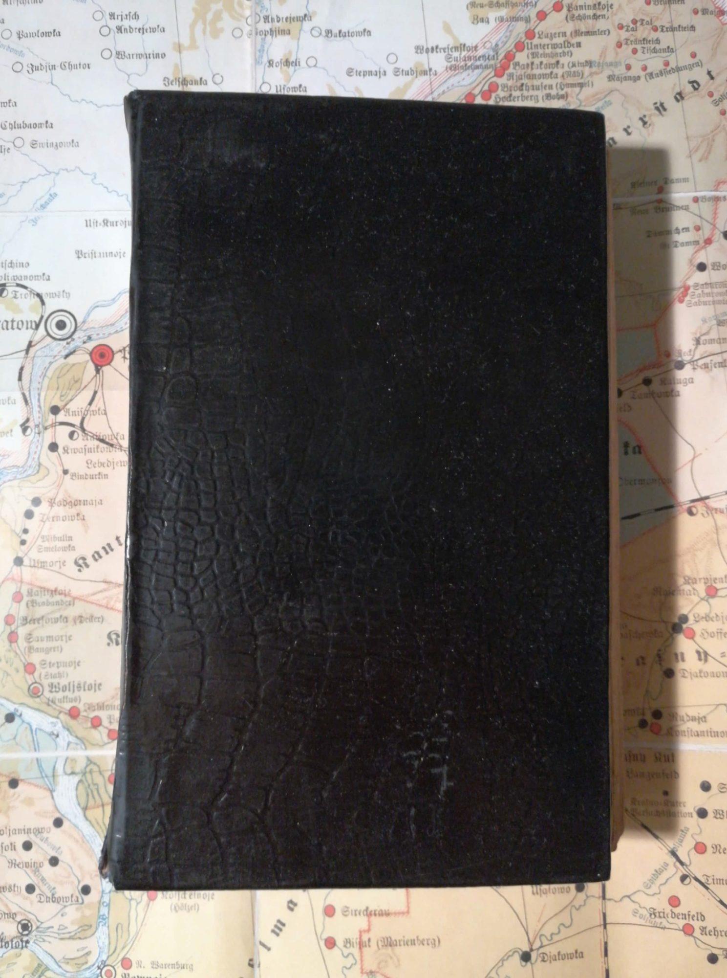 A Christian prayer book.