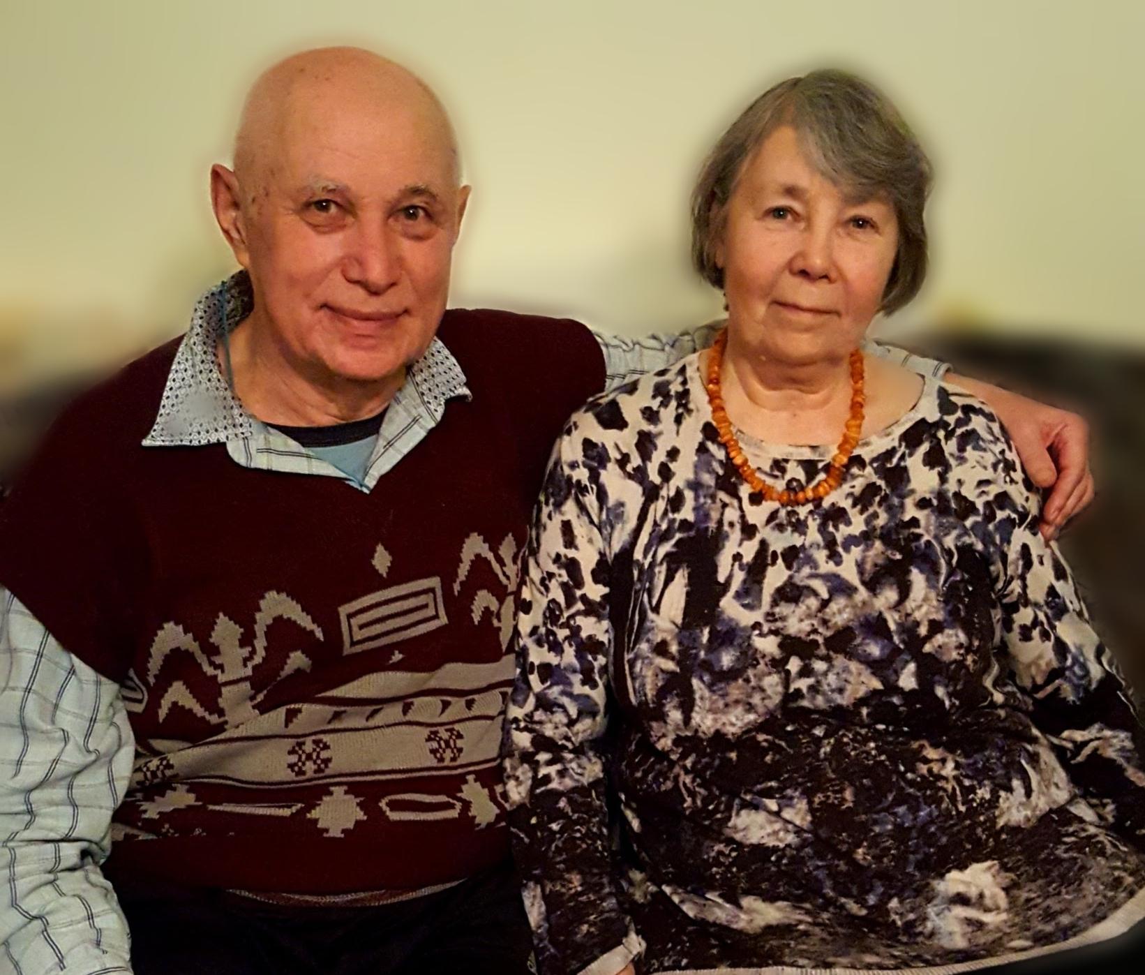Tamara (r.) und Nikolai (l.) (2020).