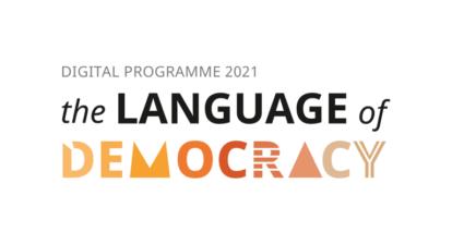 Language of democracy Logo